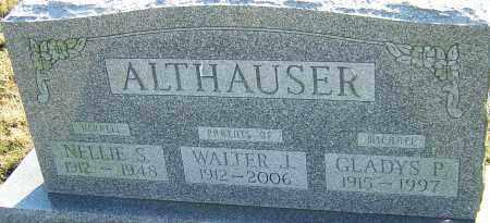 ALLTHAUSER, WALTER J - Franklin County, Ohio | WALTER J ALLTHAUSER - Ohio Gravestone Photos