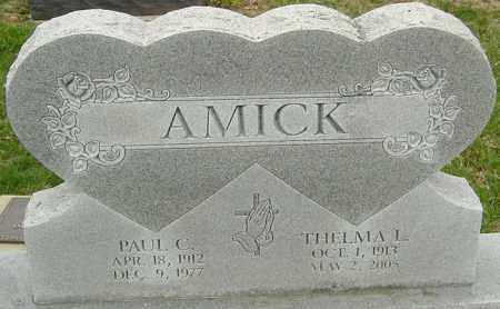 AMICK, PAUL - Franklin County, Ohio | PAUL AMICK - Ohio Gravestone Photos