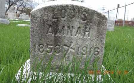 AMNAH, LOUIS - Franklin County, Ohio | LOUIS AMNAH - Ohio Gravestone Photos