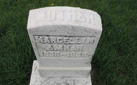 AMNAH, MARDELLIN - Franklin County, Ohio | MARDELLIN AMNAH - Ohio Gravestone Photos