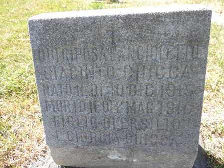 ANCIO......, DUIRIPOSA - Franklin County, Ohio | DUIRIPOSA ANCIO...... - Ohio Gravestone Photos