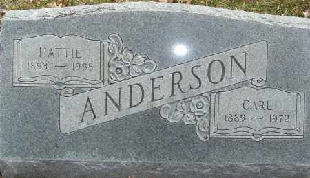 ANDERSON, CARL - Franklin County, Ohio | CARL ANDERSON - Ohio Gravestone Photos
