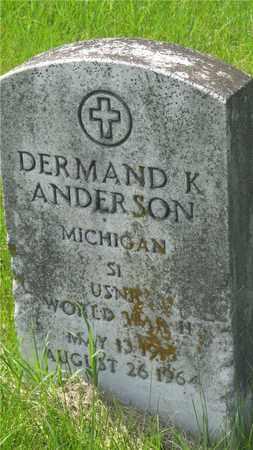 ANDERSON, DERMAND K. - Franklin County, Ohio   DERMAND K. ANDERSON - Ohio Gravestone Photos