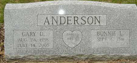 ANDERSON, GARY D - Franklin County, Ohio   GARY D ANDERSON - Ohio Gravestone Photos