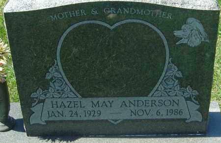 ANDERSON, HAZEL MAY - Franklin County, Ohio | HAZEL MAY ANDERSON - Ohio Gravestone Photos