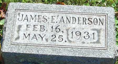 ANDERSON, JAMES E - Franklin County, Ohio   JAMES E ANDERSON - Ohio Gravestone Photos