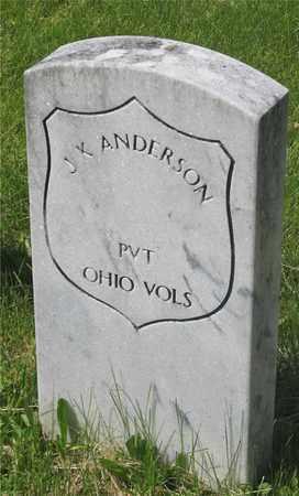 ANDERSON, J.K. - Franklin County, Ohio   J.K. ANDERSON - Ohio Gravestone Photos