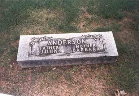 ANDERSON, BARBARA - Franklin County, Ohio | BARBARA ANDERSON - Ohio Gravestone Photos