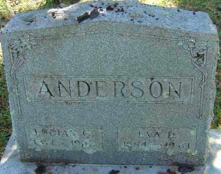 ANDERSON, LUCIAN C - Franklin County, Ohio | LUCIAN C ANDERSON - Ohio Gravestone Photos