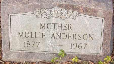 ANDERSON, MOLLIE - Franklin County, Ohio   MOLLIE ANDERSON - Ohio Gravestone Photos