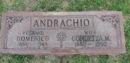 ANDRACHIO, DOMENICO - Franklin County, Ohio | DOMENICO ANDRACHIO - Ohio Gravestone Photos