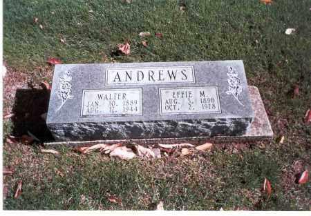 ANDREWS, EFFIE M. - Franklin County, Ohio | EFFIE M. ANDREWS - Ohio Gravestone Photos