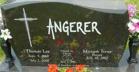 ANGERER, THOMAS LEE - Franklin County, Ohio | THOMAS LEE ANGERER - Ohio Gravestone Photos