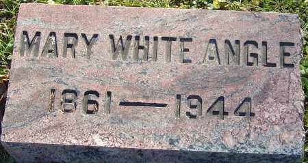 WHITE ANGLE, MARY - Franklin County, Ohio | MARY WHITE ANGLE - Ohio Gravestone Photos
