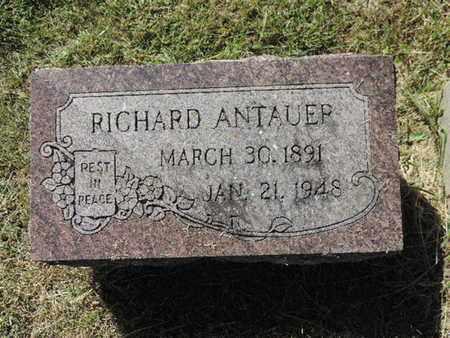 ANTAUER, RICHARD - Franklin County, Ohio | RICHARD ANTAUER - Ohio Gravestone Photos