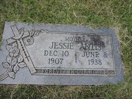 ANTIS, JESSIE - Franklin County, Ohio | JESSIE ANTIS - Ohio Gravestone Photos