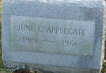 APPLEGATE, JUNE - Franklin County, Ohio | JUNE APPLEGATE - Ohio Gravestone Photos