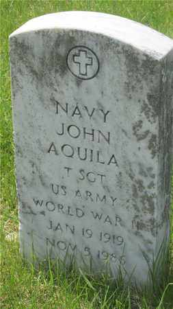 AQUILA, NAVY JOHN - Franklin County, Ohio | NAVY JOHN AQUILA - Ohio Gravestone Photos