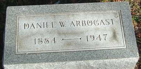 ARBOGAST, DANIEL W - Franklin County, Ohio | DANIEL W ARBOGAST - Ohio Gravestone Photos