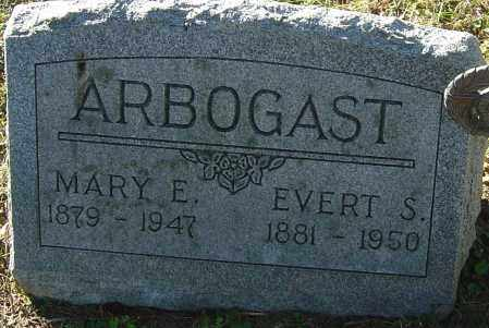 ARBOGAST, EVERT S - Franklin County, Ohio | EVERT S ARBOGAST - Ohio Gravestone Photos