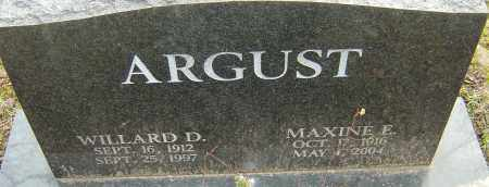 ARGUST, MAXINE E - Franklin County, Ohio | MAXINE E ARGUST - Ohio Gravestone Photos