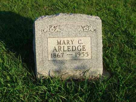 ARLEDGE, MARY C. - Franklin County, Ohio | MARY C. ARLEDGE - Ohio Gravestone Photos