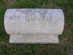 ARMSTRONG, EMORY - Franklin County, Ohio   EMORY ARMSTRONG - Ohio Gravestone Photos