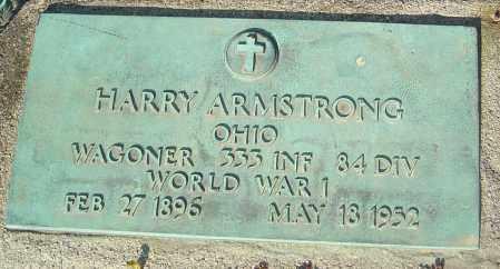 ARMSTRONG, HARRY - Franklin County, Ohio | HARRY ARMSTRONG - Ohio Gravestone Photos