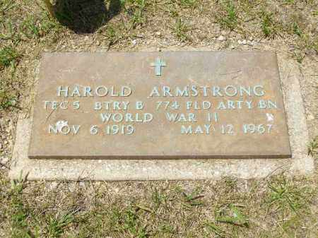 ARMSTRONG, HAROLD EDWARD - Franklin County, Ohio | HAROLD EDWARD ARMSTRONG - Ohio Gravestone Photos
