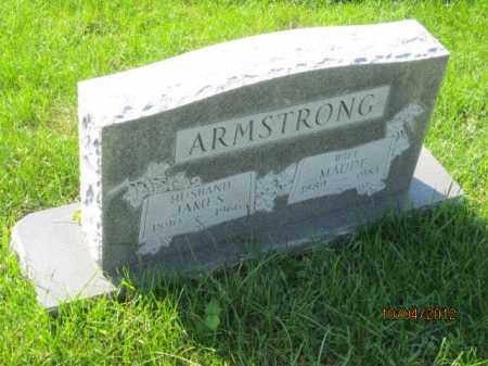 MILSTED ARMSTRONG, MAUDE - Franklin County, Ohio | MAUDE MILSTED ARMSTRONG - Ohio Gravestone Photos