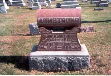 ARMSTRONG, SAMUEL H. - Franklin County, Ohio | SAMUEL H. ARMSTRONG - Ohio Gravestone Photos