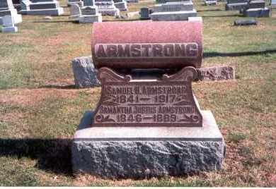 ARMSTRONG, SAMANTHA  JUSTUS - Franklin County, Ohio   SAMANTHA  JUSTUS ARMSTRONG - Ohio Gravestone Photos
