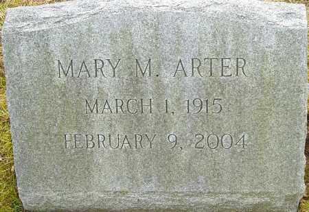 MENKEL ARTER, MARY - Franklin County, Ohio | MARY MENKEL ARTER - Ohio Gravestone Photos