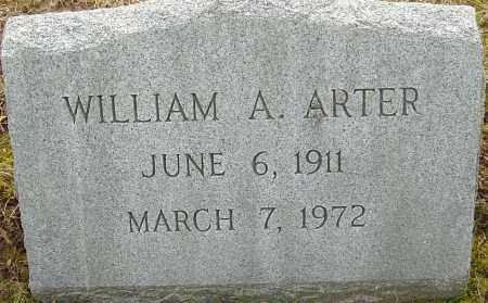 ARTER, WILLIAM A - Franklin County, Ohio | WILLIAM A ARTER - Ohio Gravestone Photos