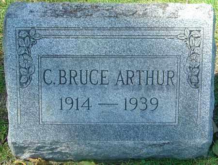 ARTHUR, C BRUCE - Franklin County, Ohio | C BRUCE ARTHUR - Ohio Gravestone Photos