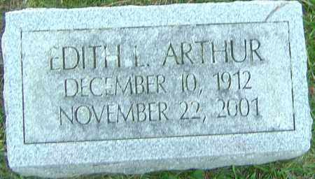 ARTHUR, EDITH - Franklin County, Ohio | EDITH ARTHUR - Ohio Gravestone Photos