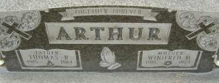 ARTHUR, WINIFRED - Franklin County, Ohio | WINIFRED ARTHUR - Ohio Gravestone Photos