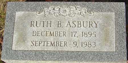 ASBURY, RUTH B - Franklin County, Ohio | RUTH B ASBURY - Ohio Gravestone Photos