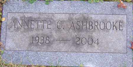 HOLLOBAUGH ASHBROOKE, ANNETTE - Franklin County, Ohio | ANNETTE HOLLOBAUGH ASHBROOKE - Ohio Gravestone Photos