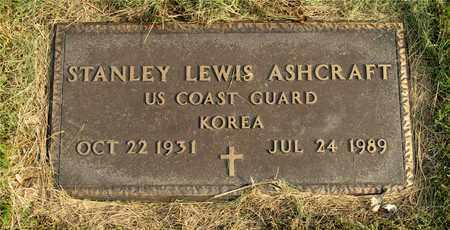 ASHCRAFT, STANLEY LEWIS - Franklin County, Ohio | STANLEY LEWIS ASHCRAFT - Ohio Gravestone Photos