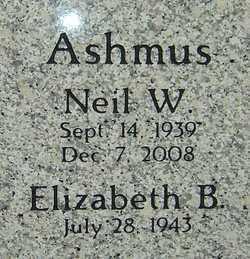 ASHMUS, NEIL - Franklin County, Ohio | NEIL ASHMUS - Ohio Gravestone Photos