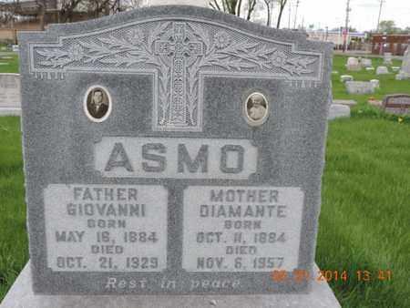 ASMO, GIOVANNI - Franklin County, Ohio | GIOVANNI ASMO - Ohio Gravestone Photos