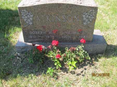 ATKINSON, VELMA E - Franklin County, Ohio   VELMA E ATKINSON - Ohio Gravestone Photos