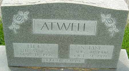 ATWELL, S JANE - Franklin County, Ohio | S JANE ATWELL - Ohio Gravestone Photos