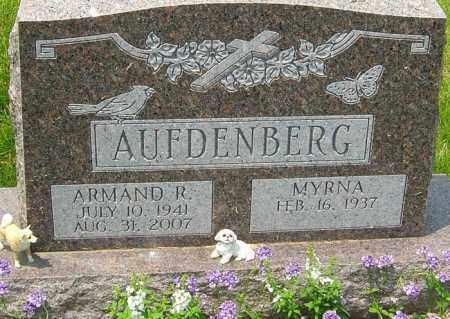 AUFDENBERG, ARMAND R - Franklin County, Ohio | ARMAND R AUFDENBERG - Ohio Gravestone Photos
