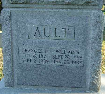 DEVOL AULT, FRANCES - Franklin County, Ohio | FRANCES DEVOL AULT - Ohio Gravestone Photos