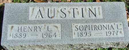 LEE AUSTIN, SOPHRONIA - Franklin County, Ohio | SOPHRONIA LEE AUSTIN - Ohio Gravestone Photos