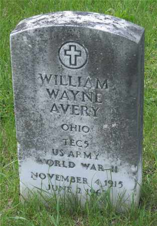 AVERY, WILLIAM WAYNE - Franklin County, Ohio | WILLIAM WAYNE AVERY - Ohio Gravestone Photos
