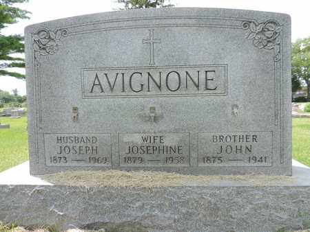 AVIGNONE, JOSEPHINE - Franklin County, Ohio   JOSEPHINE AVIGNONE - Ohio Gravestone Photos