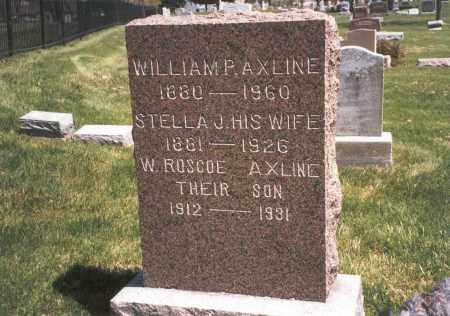 AXLINE, WILLIAM P - Franklin County, Ohio | WILLIAM P AXLINE - Ohio Gravestone Photos
